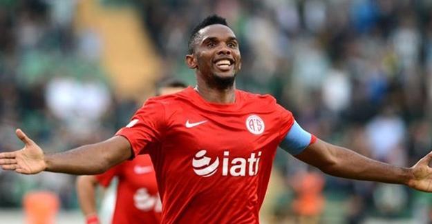Beşiktaş Eto'o ile anlaşma sağladı