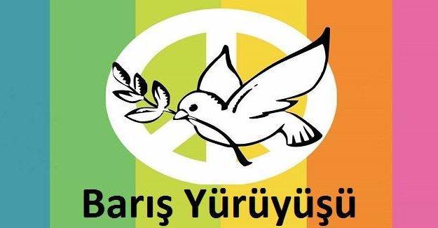 Karadenizli 2 genç Beykoz'dan Şemdinli'ye barış yürüyüşü yapıyor