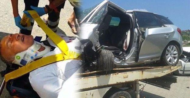 Canlı yayında trafik kazası: Mustafa Alabora yoğun bakımda