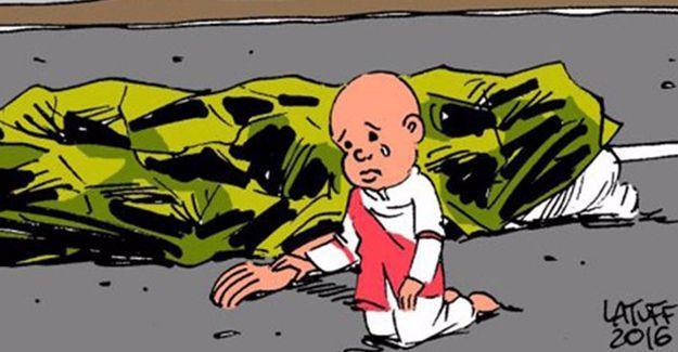 Carlos Latuff Fransa'daki katliamı çizdi