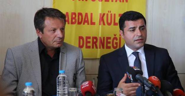Demirtaş: PKK'ye çağrı yapalım kendilerine yardım eden AKP'li şirketleri açıklasın