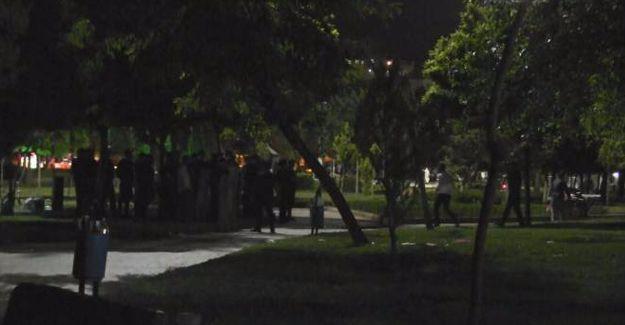 Diyarbakır'da Öcalan için 'Özgürlük Nöbeti' tutanlara polis saldırısı