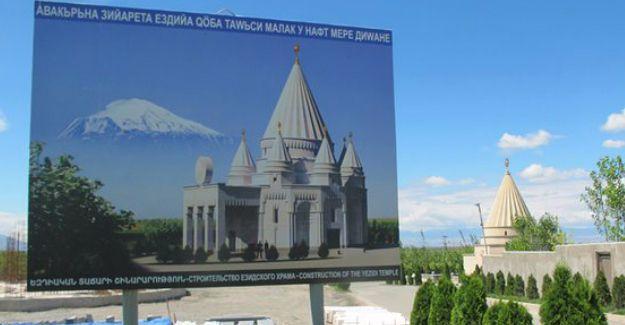 Dünyanın en büyük Ezidi tapınağı Ermenistan'da inşa ediliyor