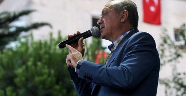 """Erdoğan'dan """"İdam isteriz"""" sloganlarına cevap"""