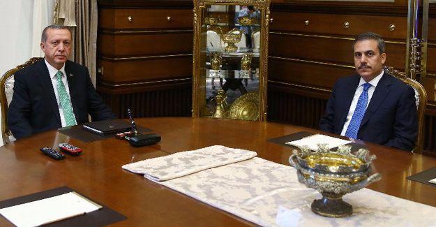 Erdoğan, MİT Müsteşarı ile görüştü