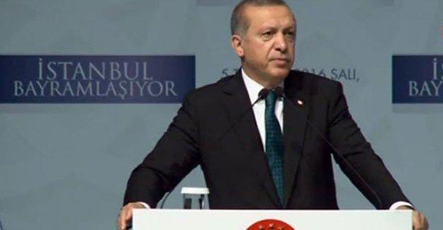 """Erdoğan'dan bayramlaşma töreninde """"Meclis'te terörist istemiyoruz"""" diyenlere yanıt"""