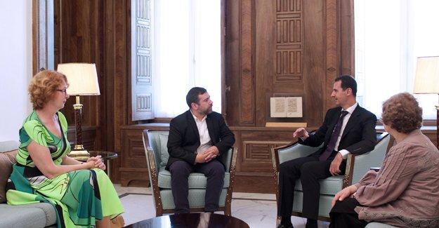 Esad, Avrupa Parlamentosu temsilcileriyle görüştü