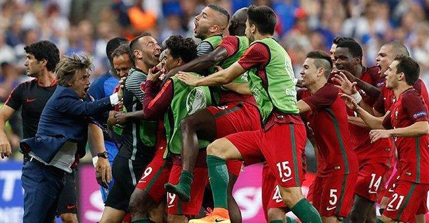Euro 2016 şampiyonu Portekiz