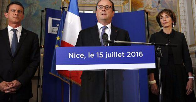 Fransa Cumhurbaşkanı Hollande: 50 kişi ölümle yaşam arasında bir çizgide