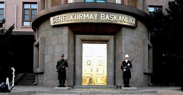 Genelkurmay'dan 'MİT istihbaratı' açıklaması