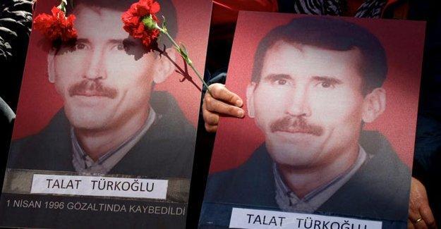 Gözaltında kaybedilen Talat Türkoğlu'nun dosyası 'zamanaşımı' kararıyla kapatıldı!