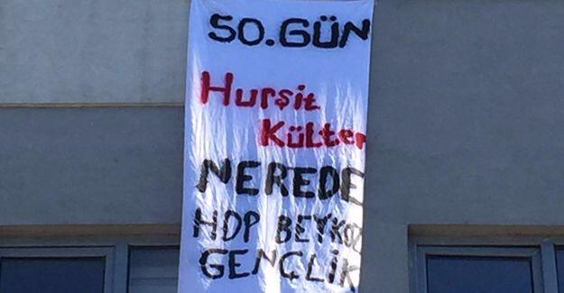 HDP Gençlik Meclisi: 50. gün Hurşit Külter nerede?