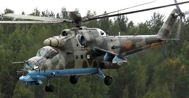 IŞİD Suriye helikopterini düşürdü; 2 Rus pilot hayatını kaybetti