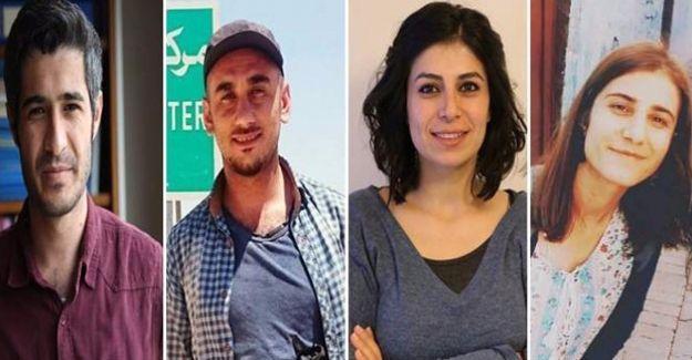 JINHA ve DİHA'dan 4 muhabir serbest bırakıldı