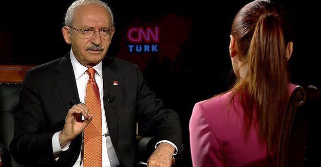 Kılıçdaroğlu: HDP'nin de olması gerektiğini Cumhurbaşkanı'na söyledim