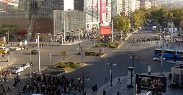 Kızılay Meydanı'nın adı değiştirildi