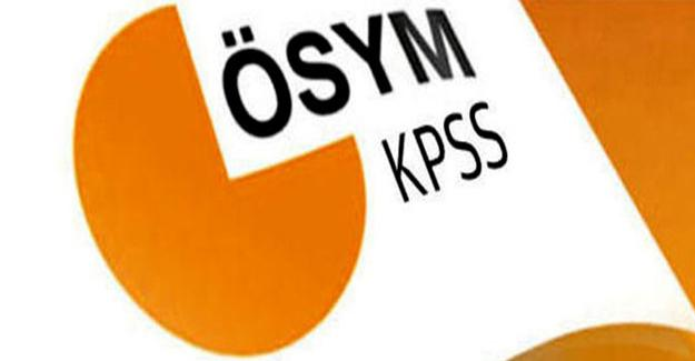 KPSS'de iki soru iptal edildi