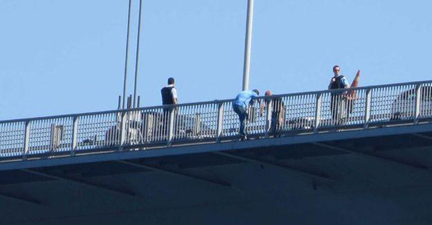 Kurmay Albay köprüden atlamak istedi