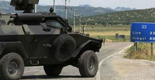 Lice'de karakola saldırı: 2 asker yaralandı