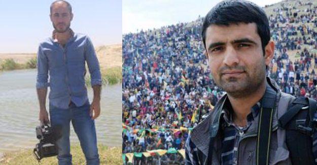 Minbic'te iki gazeteci yaralandı