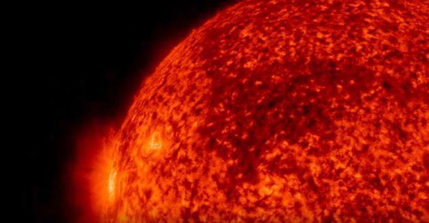 NASA yayınladı: İşte Güneş'in plazma fırlatışının görüntüleri