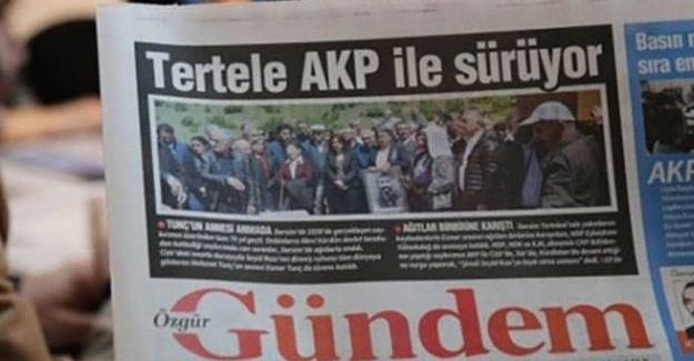 """Özgür Gündem'in 6 makale ve 1 haberine daha """"propaganda"""" davası"""