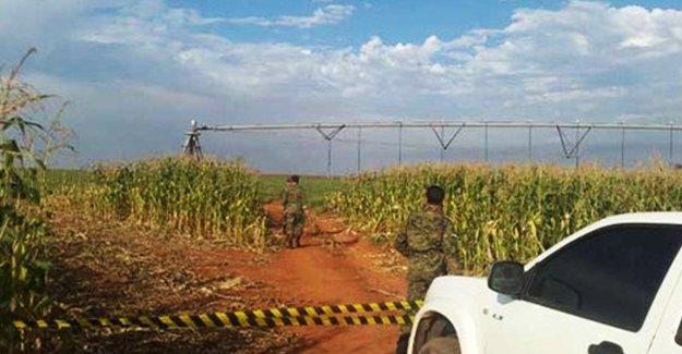 Paraguay Halk Ordusu tarım makinelerini yaktı