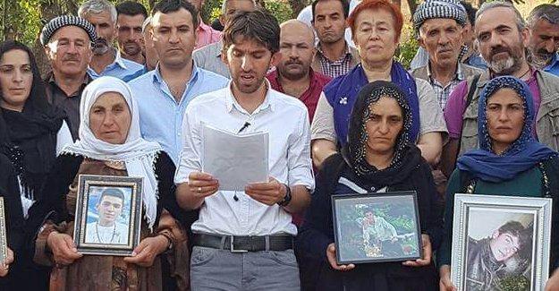 Roboskili Aileler: Birçok kentimizi yas evine, mezarlığa çevirdiler!