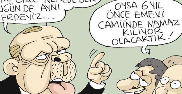 Sefer Selvi Erdoğan'ın Suriye politikasını çizdi