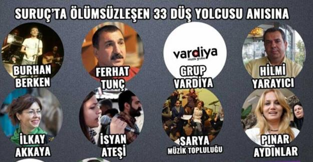 SGDF'nin İstanbul'daki Suruç etkinliğine OHAL yasağı