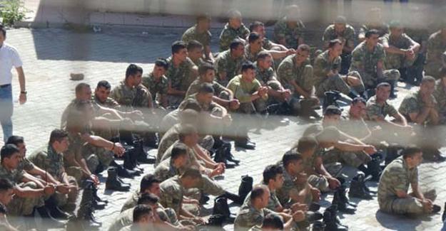 Şırnak'ta 384 asker tutuklandı