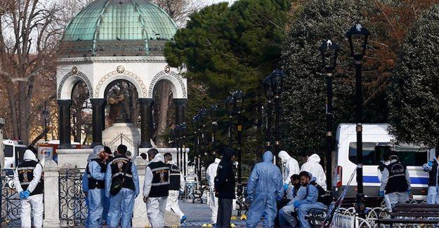 Sultanahmet saldırısında 5 sanığa tahliye