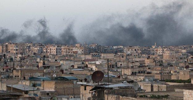 Suriye ordusu Halep'e giriş çıkışları fiilen kapattı
