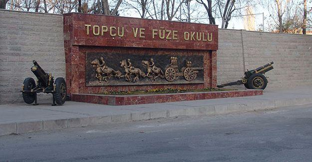 Topçu ve Füze Okulu'na polis operasyonu: 51 asker gözaltında