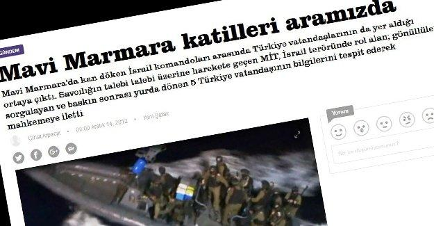 """Ya """"Mavi Marmara katilleri aramızda"""" haberleri ne olacak?"""