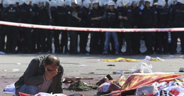 10 Ekim Ankara Katliamı'nın 1. yıl anma programı