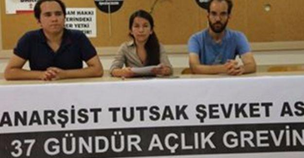 Anarşist mahkûm Şevket Aslan 37 gündür açlık grevinde