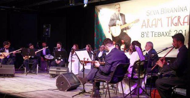 Aram Tigran ölümünün 7. yılında Diyarbakır'da şarkılarıyla anıldı
