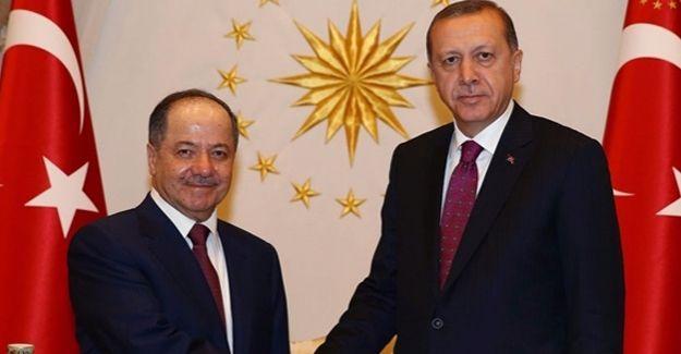 Barzani'den Ankara ziyareti