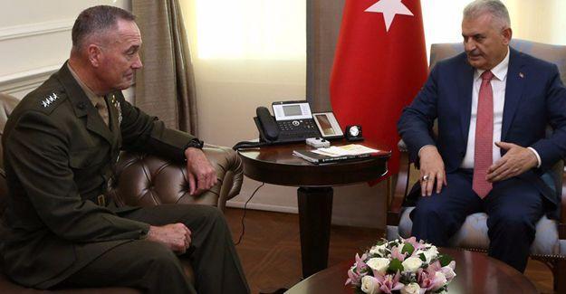 Başbakan'dan ABD Genelkurmay Başkanı'nın ziyaretine ilişkin açıklama