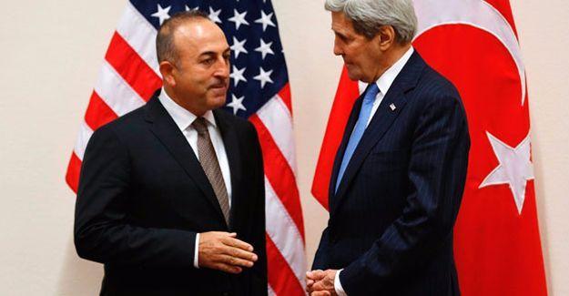 Çavuşoğlu - Kerry görüşmesi