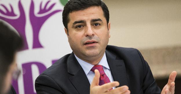 Demirtaş, Erdoğan'ın başdanışmanı hakkında suç duyurusunda bulundu