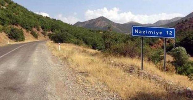 Dersim Nazimiye'deki 8 köyde sokağa çıkma yasağı