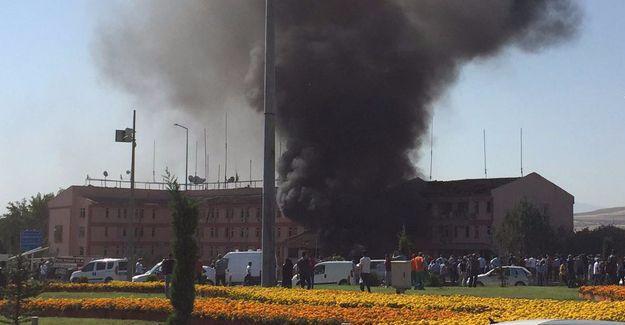 Elazığ Emniyet Müdürlüğü'ne bombalı saldırı