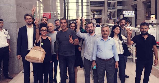 Eren Keskin adli kontrol şartıyla serbest bırakıldı