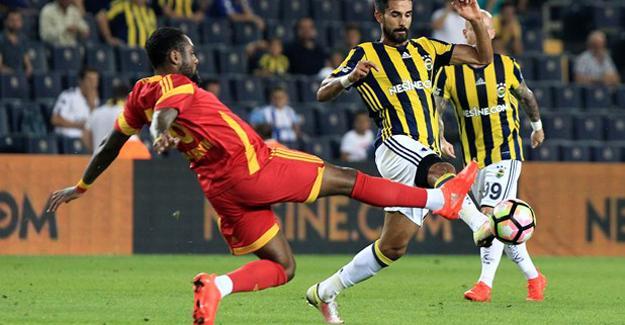 Fenerbahçe'ye kendi sahasında Kayserispor kabusu