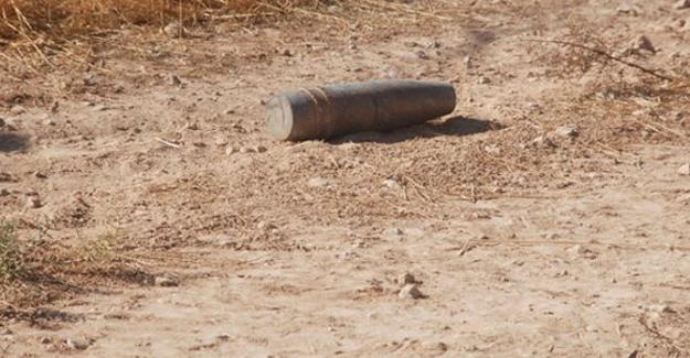 Hatay'a 17 top mermisi atıldı