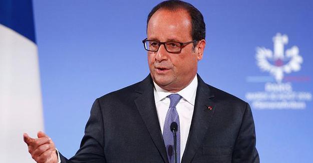 Hollande: Türkiye IŞİD'den ziyade Kürtleri hedef alıyor