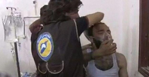 İdlib'de klor gazı saldırısı iddiası