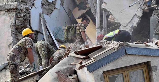İtalya'daki depremde hayatını kaybedenlerin sayısı 284'e yükseldi